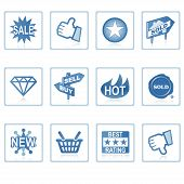 Web Icons : Online Shopping 1