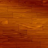 Wood Parquet Floor, Tile Seamlessly