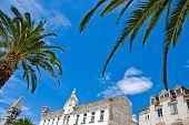 Mediterranean architecture in city of Trogir Croatia