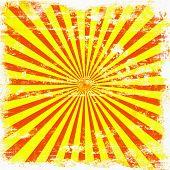 XL Grunge Sunburst