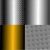 Vector Metal Plates Set