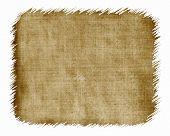 Frayed Burlap Texture