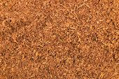 Cut Pipe Tobacco Texture Background Macro Closeup