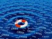 Imagem conceitual - ajuda em uma situação de crise