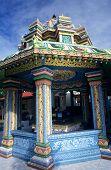 foto of kali  - Kali tamil temple Saint Andre La Reunion Island - JPG