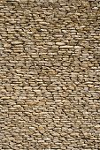 wall made of stones