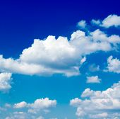 image of clouds sky  - The clouds on the sky - JPG