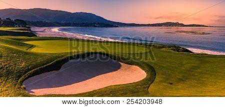 Pebble Beach Golf Course Monterey