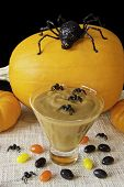 Halloween Spiders And Pudding