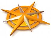 image of compass rose  - Navigation - JPG
