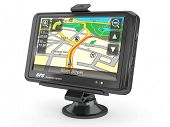 stock photo of gps navigation  - Navigation system - JPG