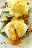 Bacon Eggs Benedict