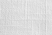 Background Of Natural Material, Decorative Matting. White Wallpaper With Linen Texture. Backdrop Fro poster