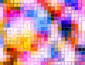 Multi Colour Mosaic