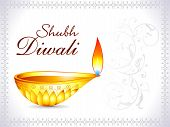 Abstract Artistic Deepawali Deepak Wallpaper