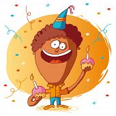 foto of happy birthday card  - happy birthday - JPG