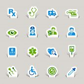 Paper Cut - Medical Icons