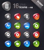 Glossy Pebbles - Website and Internet Icons