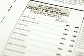 California 2008 Primary Ballot