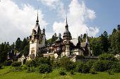 Castle Peles in Sinaia (Romania) poster