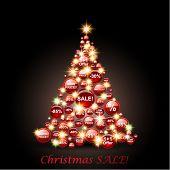 Sale Christmas Tree.