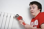 Scared Plumber Boy