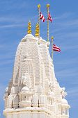 Tower at Hindu temple in Atlanta
