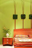 Bedroom Floral Detail