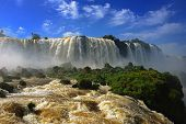 Iguazu falls, one of the new seven wonders of nature, Devils Throat, Garganta del Diablo