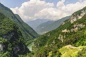 Landscape Near Stenico (trento)