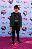 LOS ANGELES - JUL 22:  Joe Jonas arriving at the 2012 Teen Choice Awards at Gibson Ampitheatre on July 22, 2012 in Los Angeles, CA