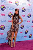 LOS ANGELES - JUL 22:  VIctoria Justice arriving at the 2012 Teen Choice Awards at Gibson Ampitheatre on July 22, 2012 in Los Angeles, CA