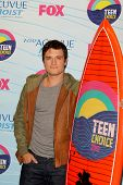 LOS ANGELES - JUL 22:  Josh Hutcherson in the Press Room of the 2012 Teen Choice Awards at Gibson Am