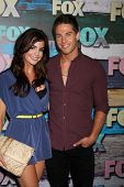 LOS ANGELES - JUL 23:  Jillian Murray, Dean Geyer arrives at the FOX TCA Summer 2012 Party at Soho House on July 23, 2012 in West Hollywood, CA