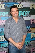 LOS ANGELES - JUL 23:  Seth MacFarlane arrives at the FOX TCA Summer 2012 Party at Soho House on Jul