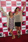 LOS ANGELES - JULY 25: Jamie Anderson, Helen Schettini at Billabong's 6th Annual Design For Humanity