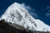 Pumo Ri Peak - Himalaya Mountains