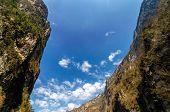 Sumidero Canyon Sky
