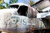 Old War Plane Nostalgia
