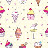 Pattern Ice-cream