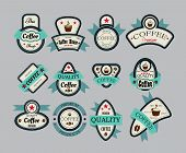 Coffee House Labels