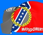 Flag Of Montgomery, Usa.