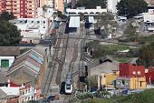 Train Station In Algeciras, Spain