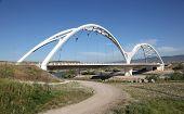 Modern Bridge In Cordoba, Spain