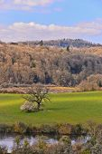 stock photo of chepstow  - A view of the countryside of Chepstow - JPG