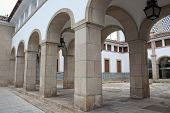 Archways In Evora, Portugal