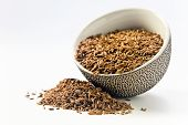 Caraway Seeds In A Small Ceramic Cup