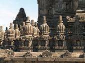 Decorated Wall Of Prambanan Temple, Indonesia