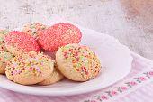 sugar sprinkles cookies