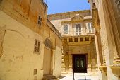 Historic Architecture In Mdina